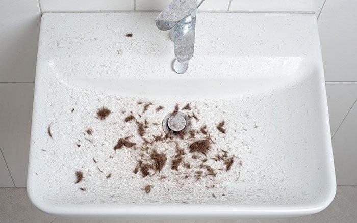 Nach dem Rasieren: Wohin mit den abgeschnittenen Haaren?